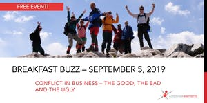 September Breakfast Buzz: Conflict in business – the...