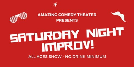 OC's Best Saturday Night Improv Show - Live Improv Comedy tickets