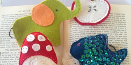 Sewing for Children with Felt 6th August 2019 £35 tickets