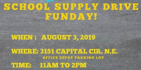 School Supply Drive Fun Day! tickets