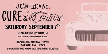 U CAN-CER VIVE Cure&Couture 2019 tickets