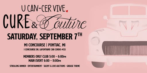 U CAN-CER VIVE Cure&Couture 2019