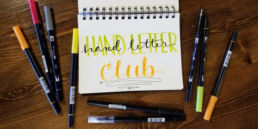 October Hand Letter Club - Saturday