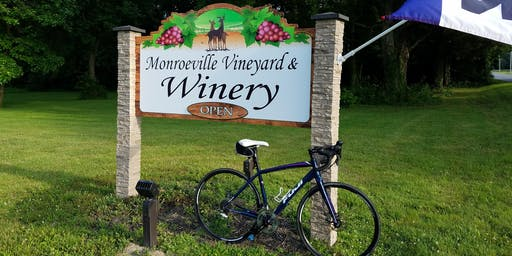 Ride & Wine with S&S and Monroeville Winery