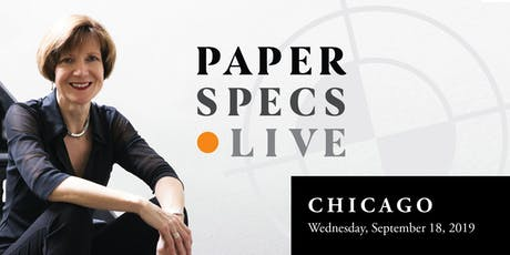 PaperSpecs Live tickets