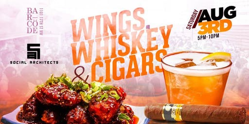 WINGS, WHISKEY & CIGARS DAY PARTY