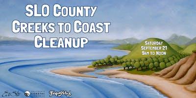 SLO County Creeks to Coast Cleanup