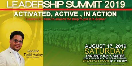 Leadership Summit 2019 tickets