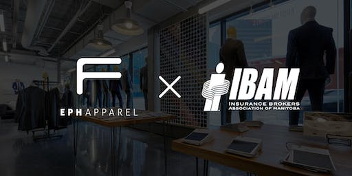 IBAM Night at Eph Apparel | Free Shirt + Tie with any suit!