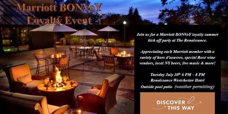 Marriott BONVoY Event - Experience the Local - Renaissance Westchester tickets