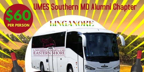 UMES SoMD Alumni Chapter's Autumn Reggae Wine & Music Festival Party Bus tickets