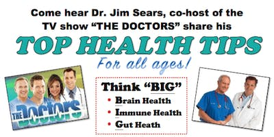 DISTRIBUTOR TICKETS for Dr. Sears' Top Health Tips Event