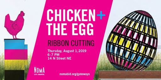 Chicken & The Egg Ribbon Cutting