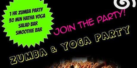 Zumba & Yoga Party! tickets