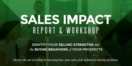 Maxwell Method Of Sales: Sales Impact Workshop- September tickets