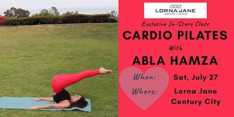Cardio Pilates with Abla Hamza tickets