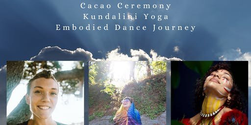 Cacao Ceremony/Kundalini Yoga/Embodied Dance Trilogy Experience []TheSpaceVta[]