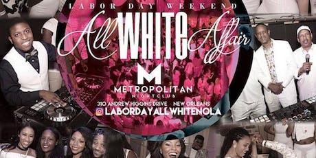 Labor Day  All White Affair tickets