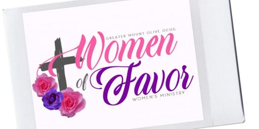 Women of Favor Vision Board Party