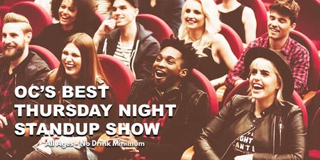 OC's Best Thursday Night Standup Show -  Live Standup Comedy tickets