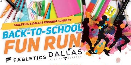 FREE Back to School Fun Run @Fabletics Legacy West  tickets
