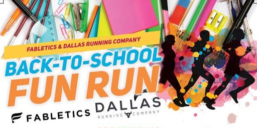 FREE Back to School Fun Run @Fabletics Legacy West