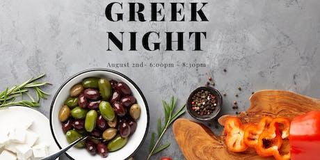 "Kitchen House ""After Dark"" Cooking Class - GREEK tickets"