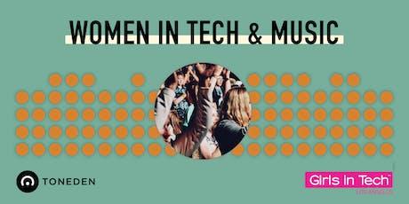 Women in Tech & Music  tickets