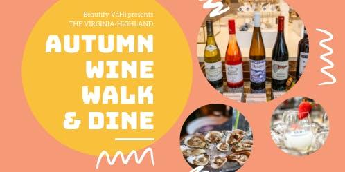 VaHi Autumn Wine Walk