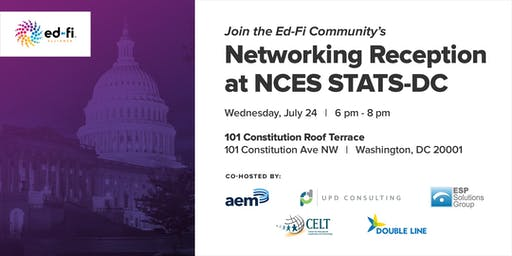 Ed-Fi Alliance Networking Reception at NCES STATS-DC