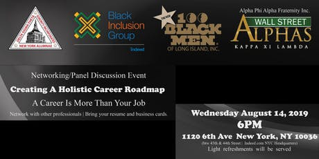 Creating A Holistic Career Roadmap- Networking Event and Panel Discussion tickets