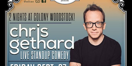 Chris Gethard Standup & Beautiful / Anonymous 2-Day Ticket Pass tickets