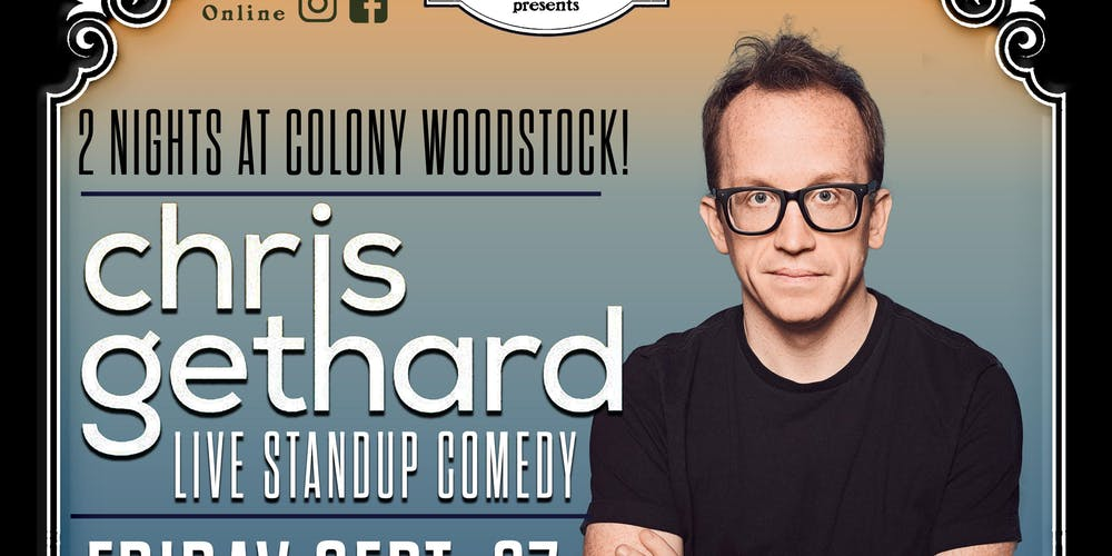 Chris Gethard Standup & Beautiful / Anonymous 2-Day Ticket Pass