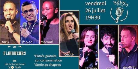 Seven Comedy Club N°28 billets