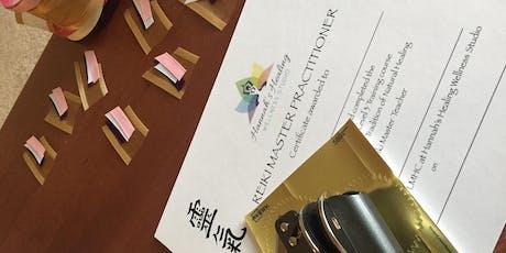 Level 3 Reiki Master Advanced Training tickets