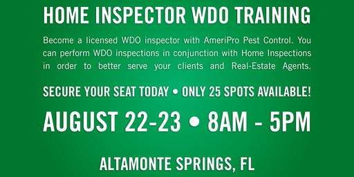 WDO Inspection Certification