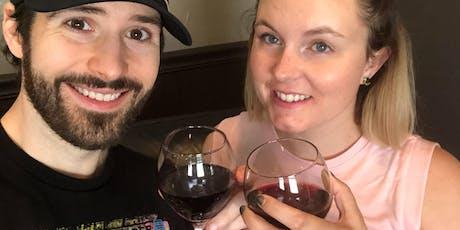 Yoga Class + Wine - [Bottoms Up! Yoga & Brew] tickets