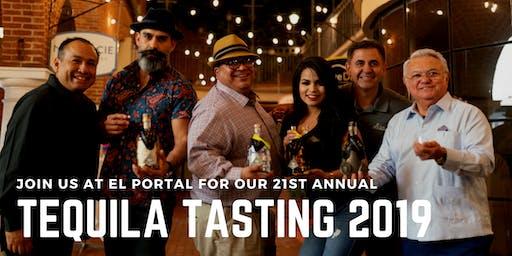 Tequila Tasting 2019 at El Portal Restaurant