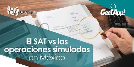 San Luis, El SAT vs operaciones simuladas