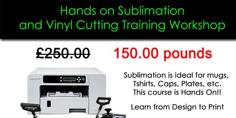 Sublimation and Vinyl Printing Course tickets