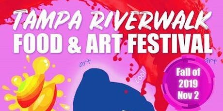 Tampa Riverwalk Fall Food & Art Festival tickets