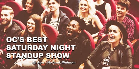 OC's Best Saturday Night Standup Show -  Live Standup Comedy tickets