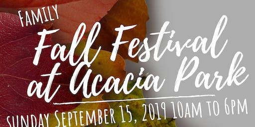 Fall Festival at Acacia Park