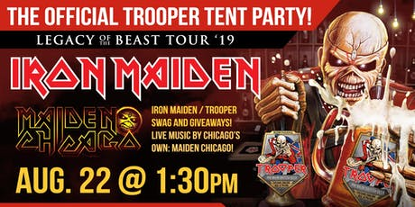 The Official Iron Maiden Trooper Tent Party tickets
