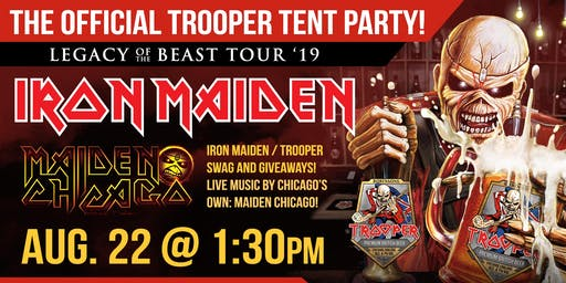 The Official Iron Maiden Trooper Tent Party