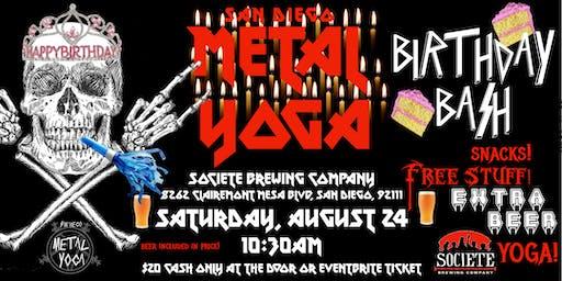San Diego Metal Yoga 8/24