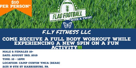 Fly Fitness Presents: Flag Football With A Twist  tickets