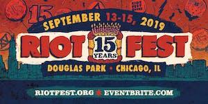 RIOT FEST 2019 I SUNDAY PASS