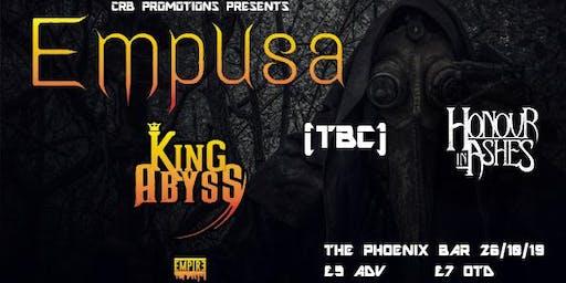 Empusa EP launch show 26/10/19