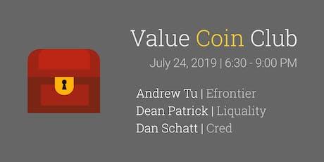 Value Coin Club | Blockchain Meet-up tickets